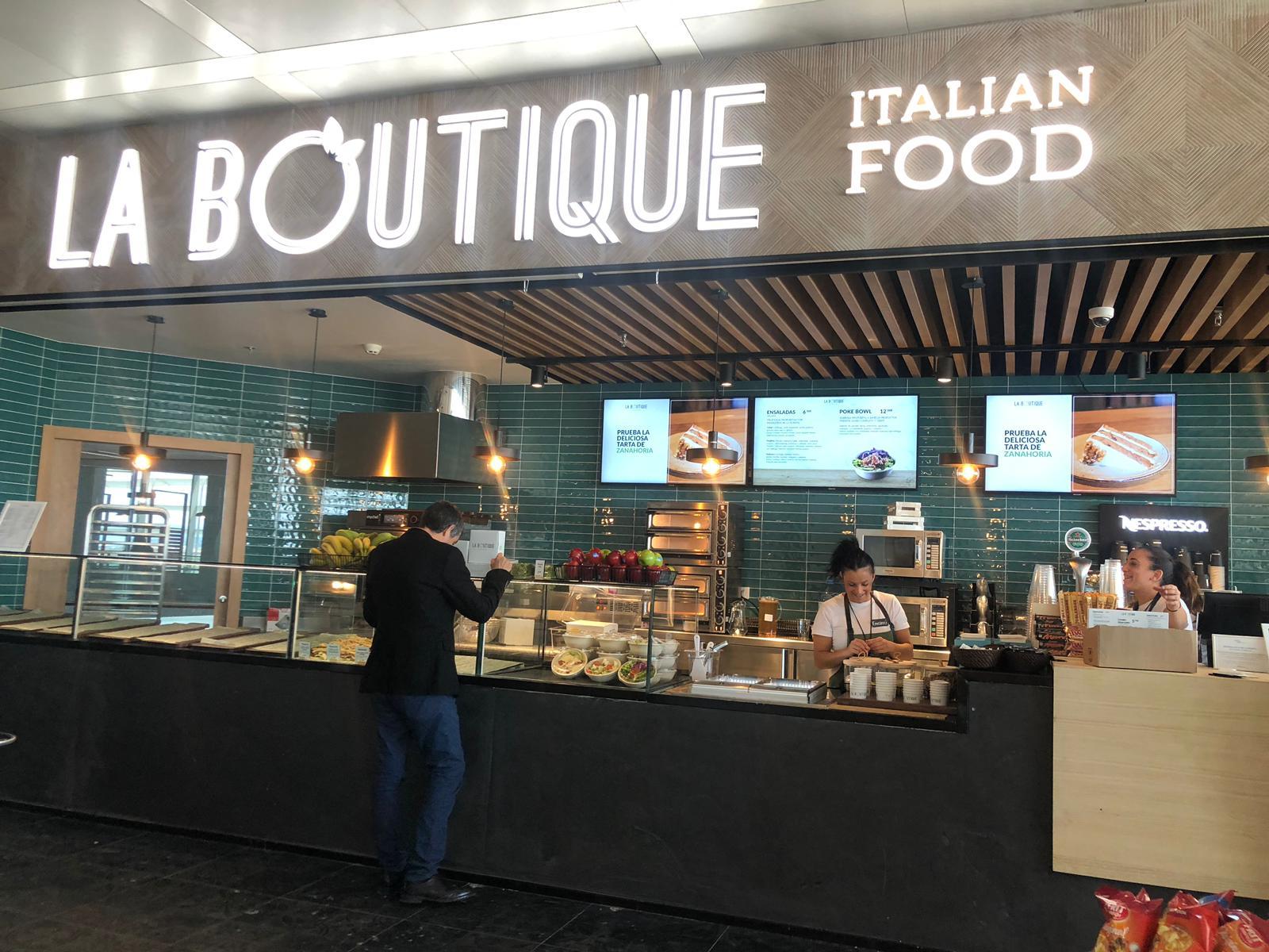 La Boutique Italian Food Málaga Aeropuerto